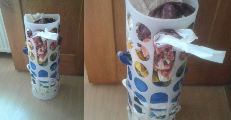 spesso Dispenser per sacchetti Variera: 1,99€ da Ikea, 15 usi eccezionali  YK84