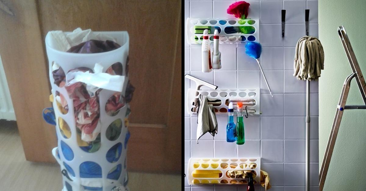 Famoso Dispenser per sacchetti Variera: 1,99€ da Ikea, 15 usi eccezionali  OC55