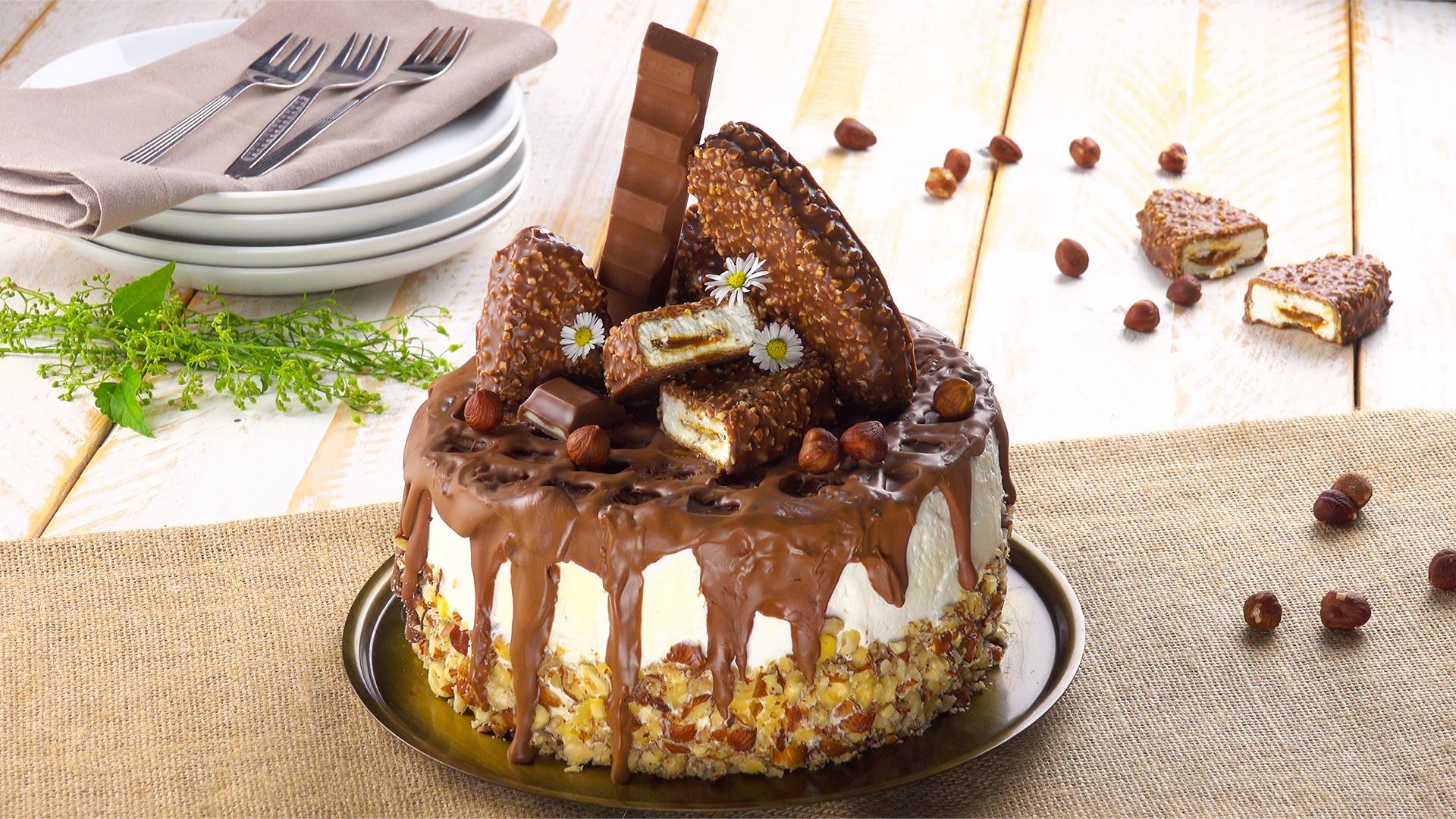 Molto Torta Kinder Maxi King: un dolcissimo gusto in versione extra-large. PB83