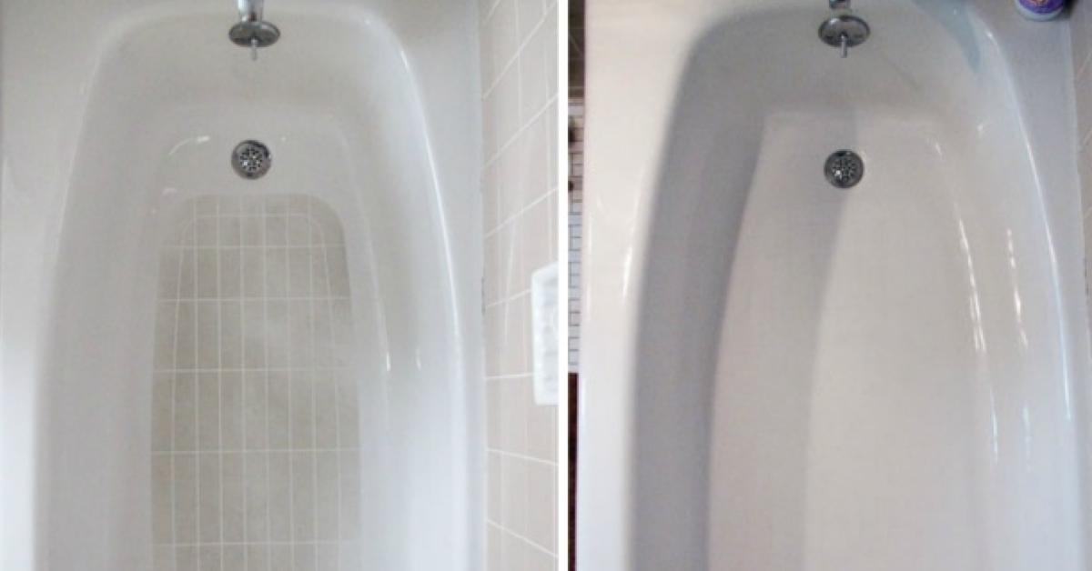 Vasca Da Bagno Macchiata : Semplificarsi la vita con 17 idee pratiche per pulire bagno e cucina.