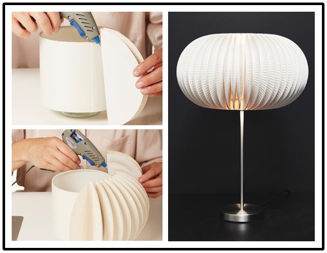 Lampadario Di Carta Velina : Meraviglie di design in carta: 25 lampade fatte in casa.