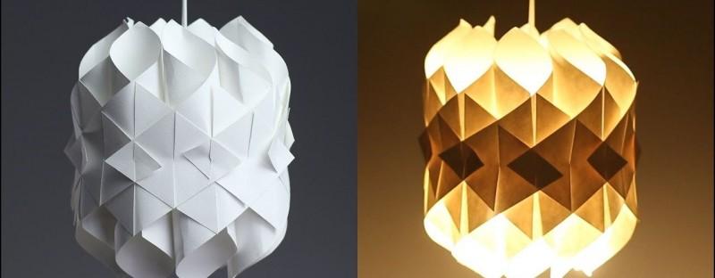 076f6a2d96 Meraviglie di design in carta: 25 lampade fatte in casa.