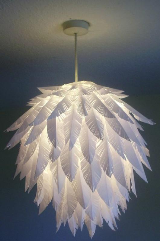Lampade Di Carta Fai Da Te.Meraviglie Di Design In Carta 25 Lampade Fatte In Casa