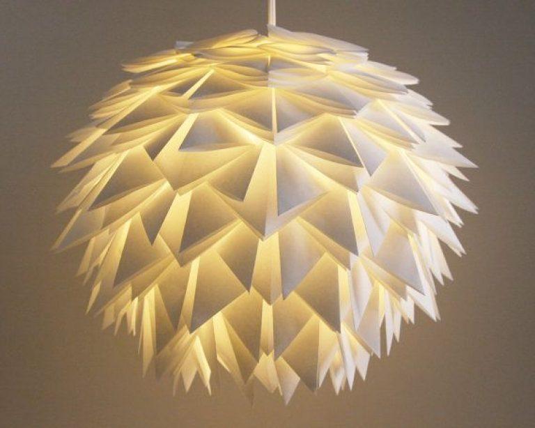 Lampada Origami Istruzioni : Lampada origami tutorial lampade da comodino origami d emilio