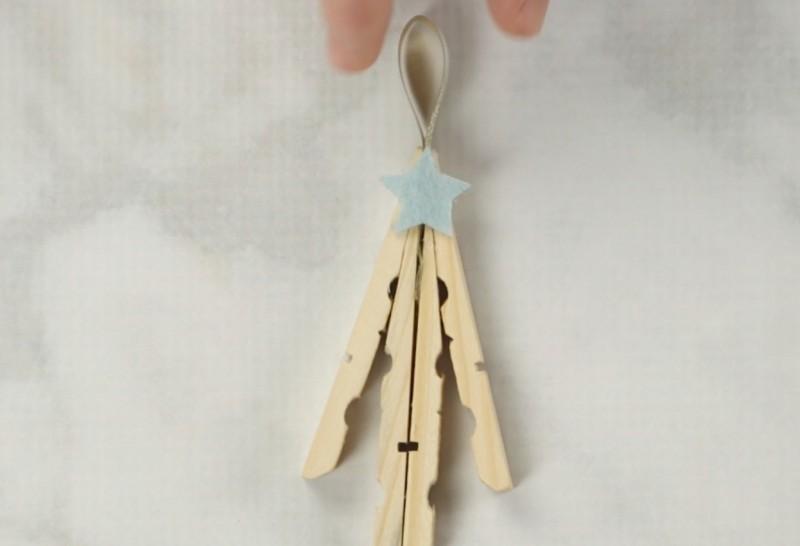 Lavoretti Di Natale Una Stella Con Mollette.3 Idee Decorative Natalizie Con Le Mollette Da Bucato