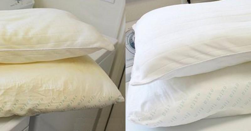 Come Lavare I Cuscini Del Letto.Lavare Correttamente Cuscini Ingialliti E Piumone