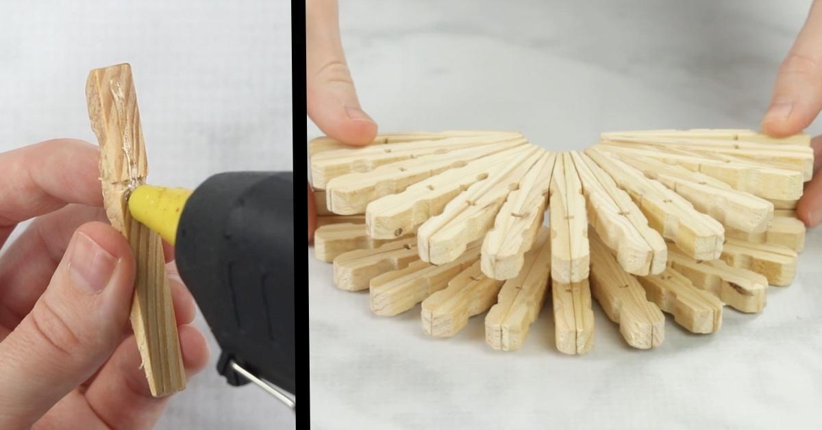 Lavoretti Con Mollette Di Legno Per Natale.3 Idee Decorative Natalizie Con Le Mollette Da Bucato
