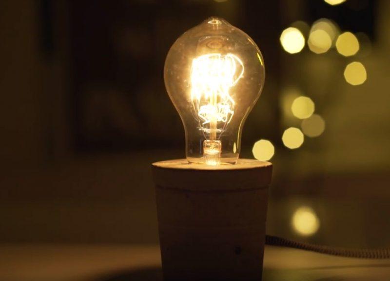 Lampada In Cemento Fai Da Te : Idee creative con il cemento fai da te per un riciclo creativo