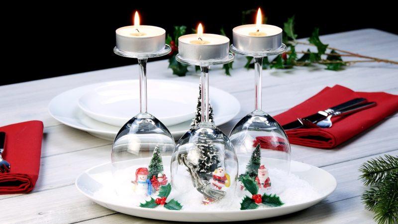 Decorazioni Natalizie Tavola.6 Decorazioni Natalizie Fai Da Te Per La Tavola Di Natale