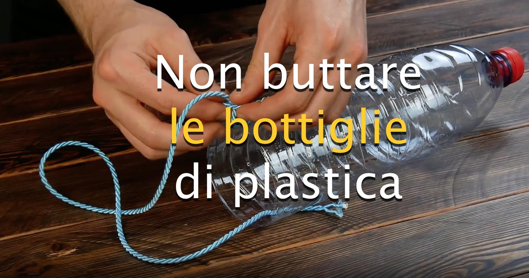Bagnare Piante Con Bottiglie 9 idee di riciclo creativo con le bottiglie di plastica.