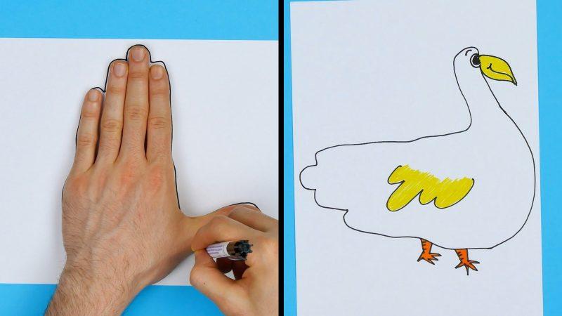 4 Idee Creative Per Fare Originali Disegni Da Colorare