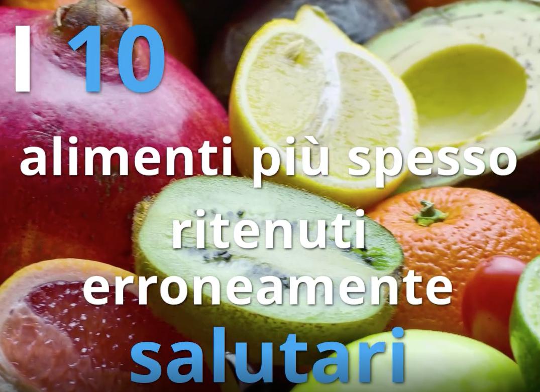 10 cibi da evitare per avere un'alimentazione sana.