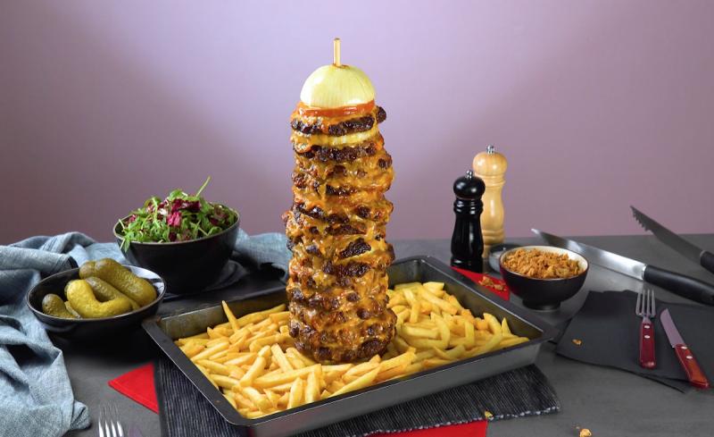doner kebab di hamburger fatti in casa