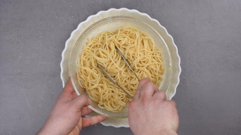 spaghetti cotti