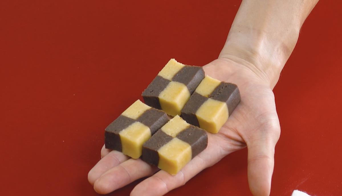 Pasta frolla a scacchi