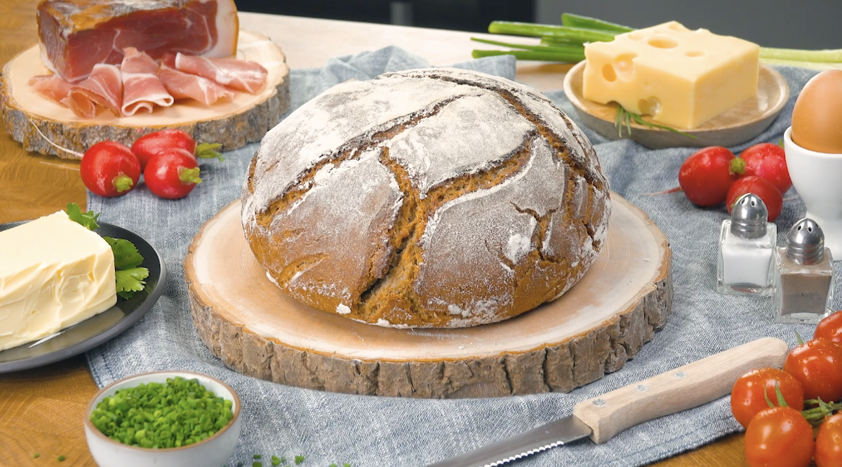 Pane a lievitazione naturale fatto in casa