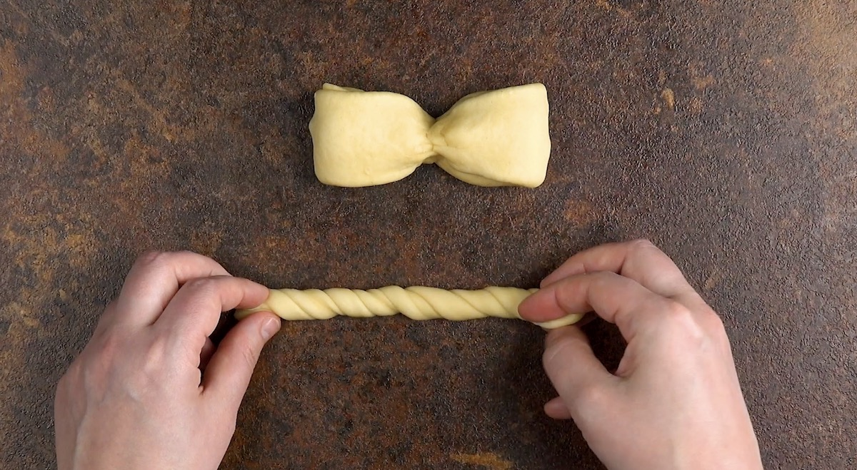 Fiocco di pasta lievitata