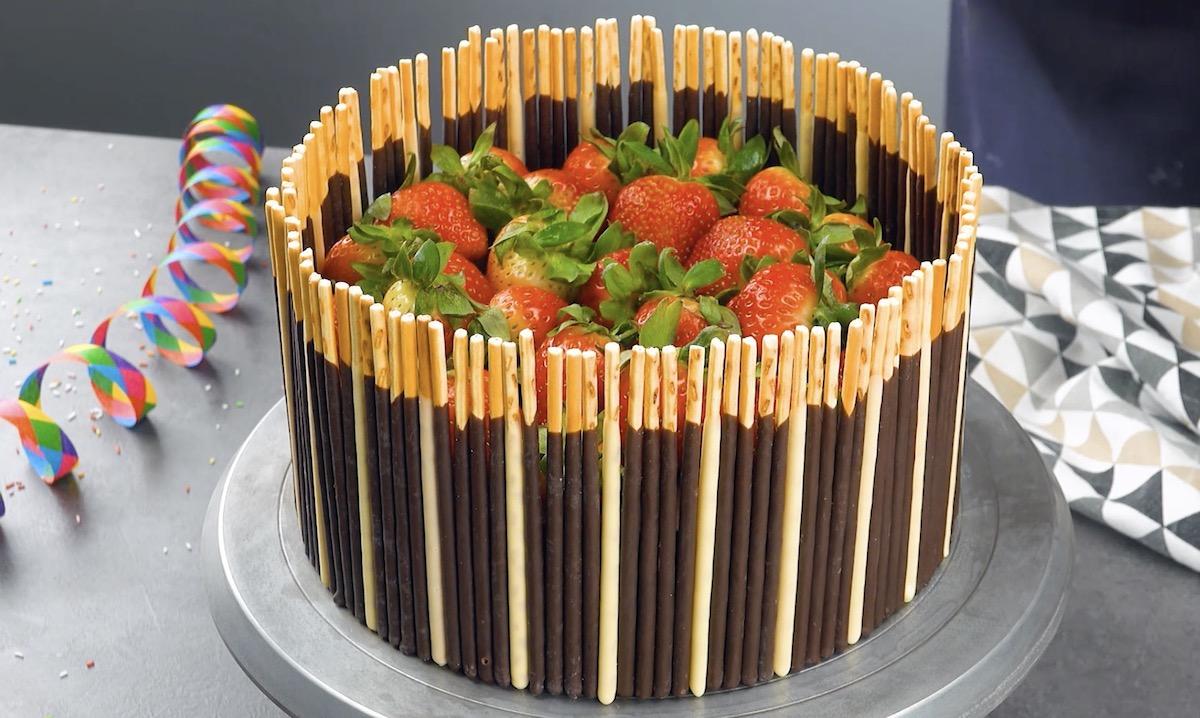 Decorazioni per torte con mikado