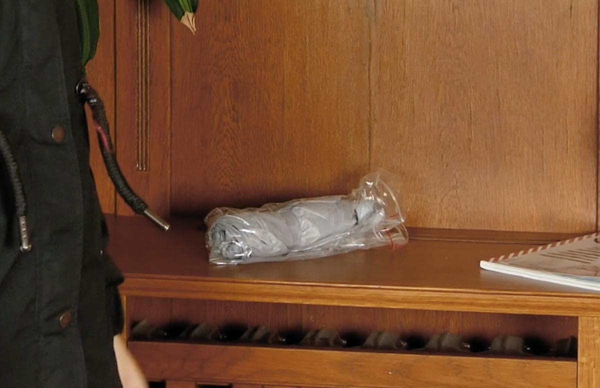 Sacchetti richiudibili per ombrellino bagnato