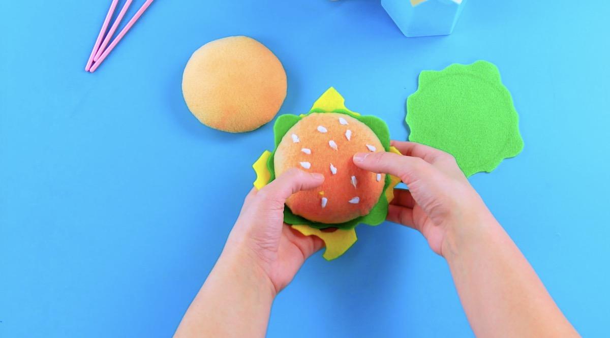 Hamburger di feltro