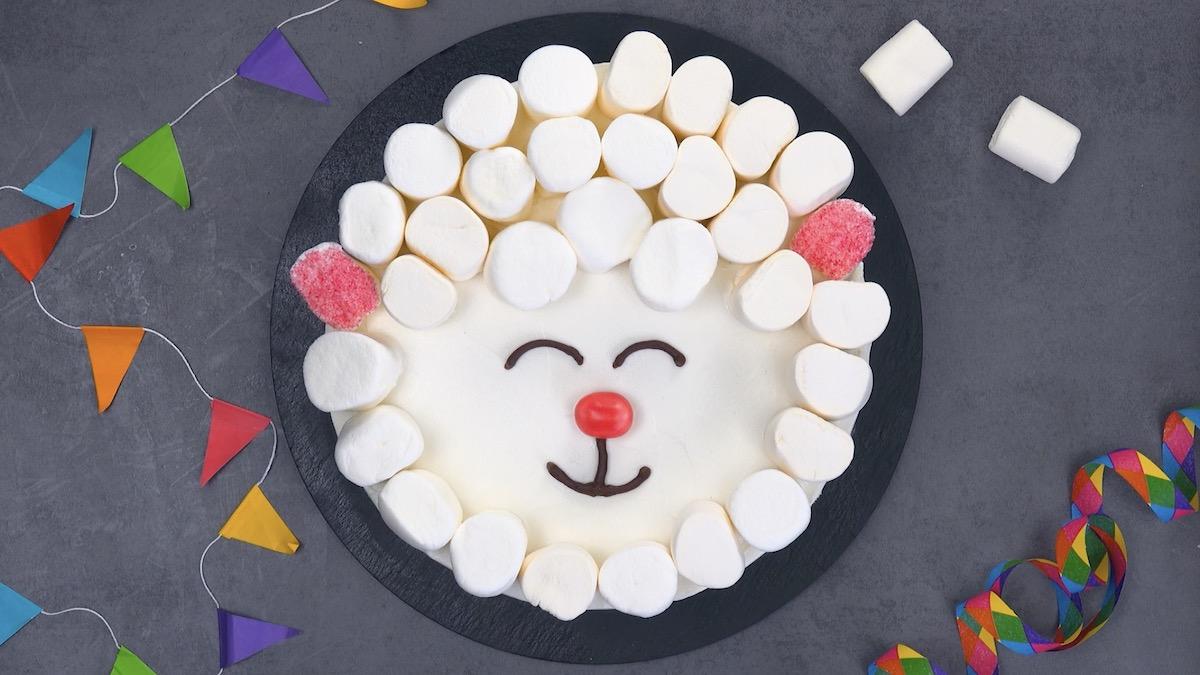 Decorazioni per torte a forma di pecorella