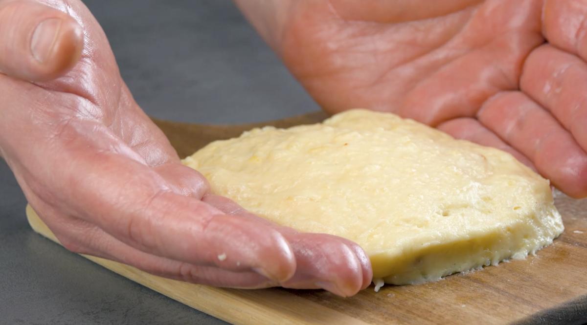 Impasto con purè di patate