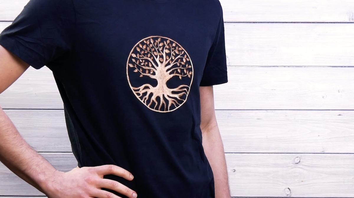 Magliette personalizzate con il riciclo creativo dell'evidenziatore