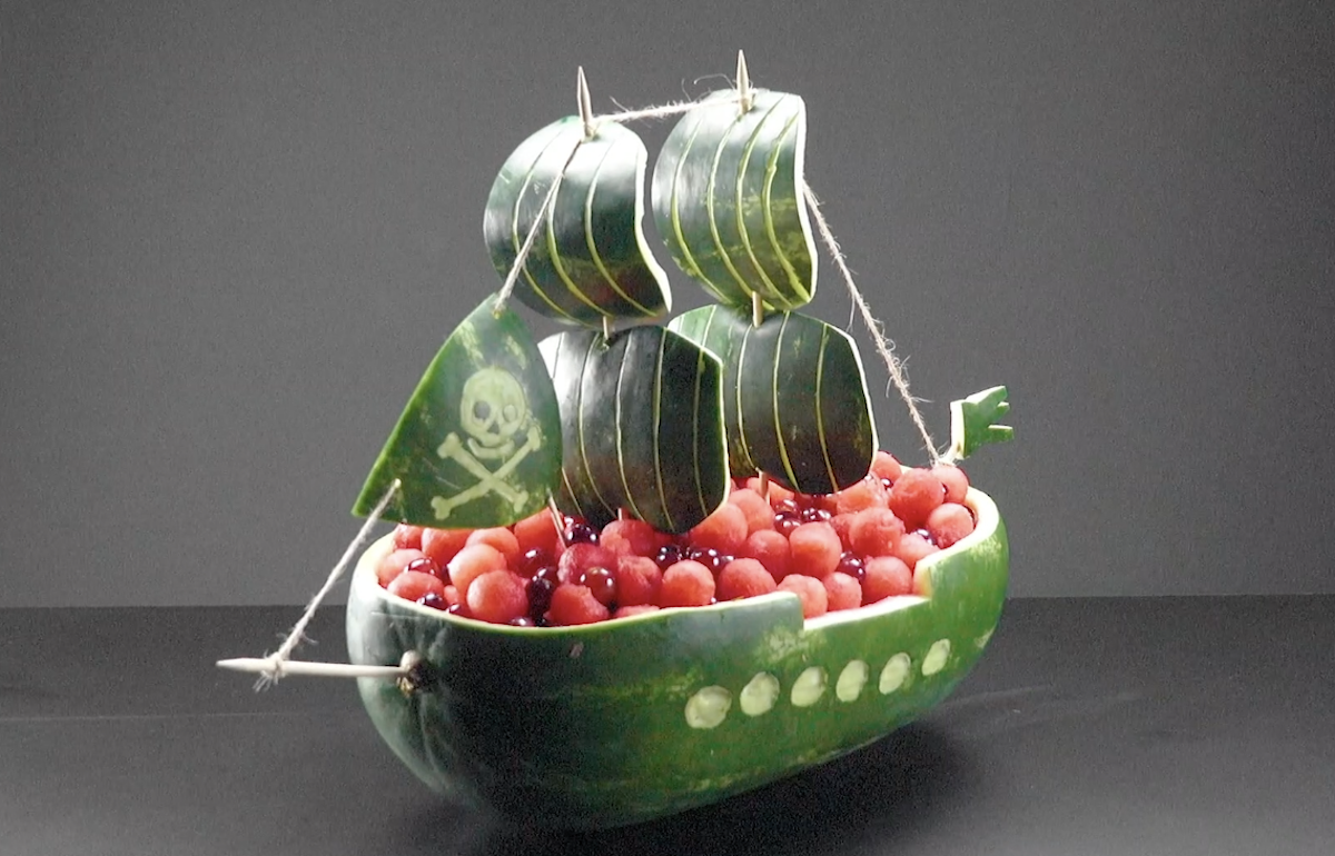 Opere d'arte con l'anguria