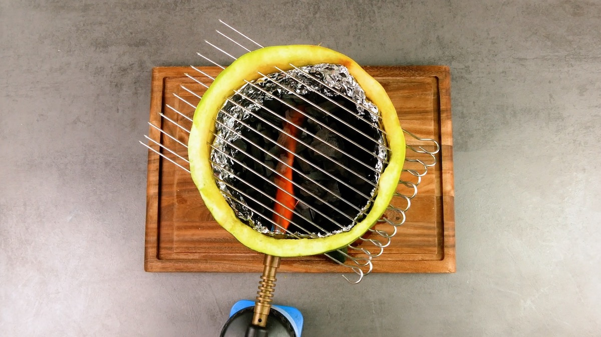 Griglia barbecue fai da te