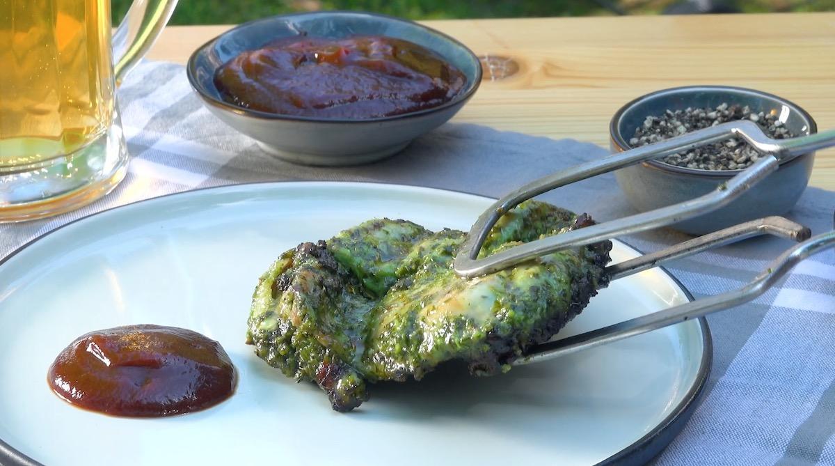 Pollo marinato alle erbe aromatiche