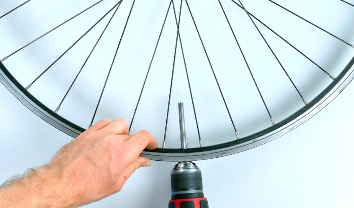 Fori nel cerchione bici