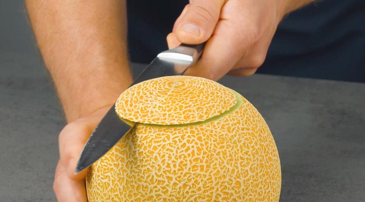 Parte superiore del melone