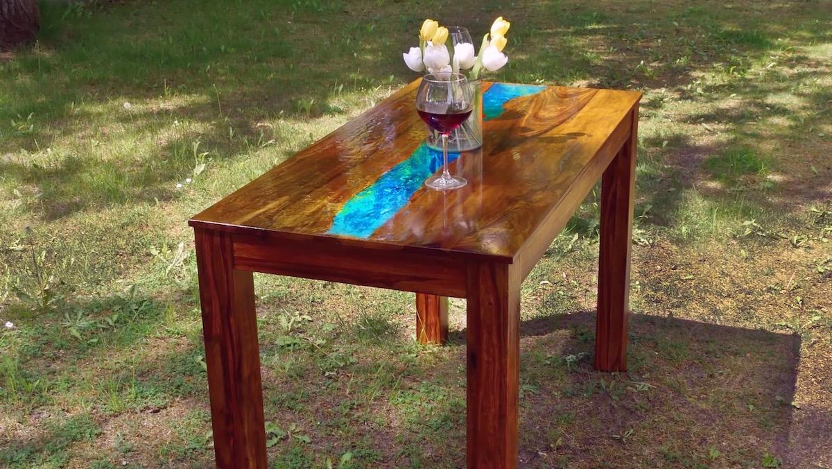 Decorazione tavolo fai da te