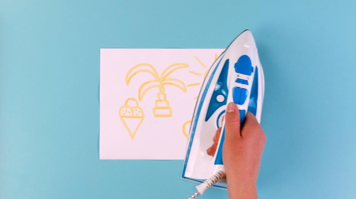 Disegni per bambini con inchiostro simpatico