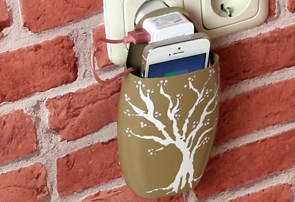 Porta cellulare da muro
