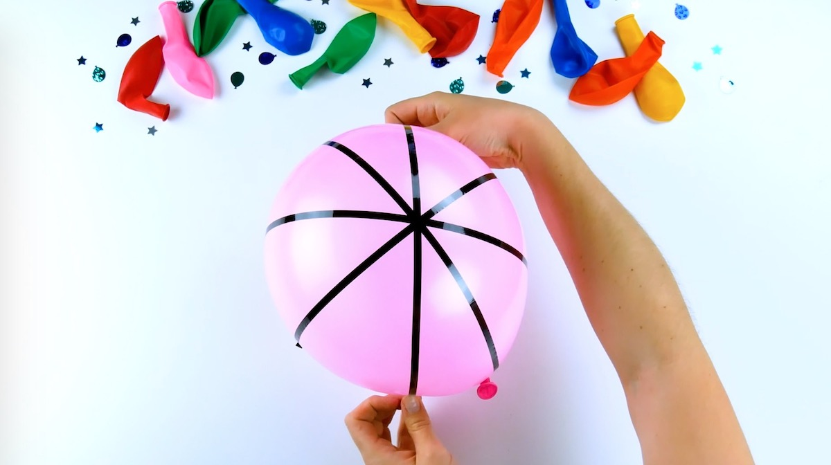 Palloncini colorati e decorati