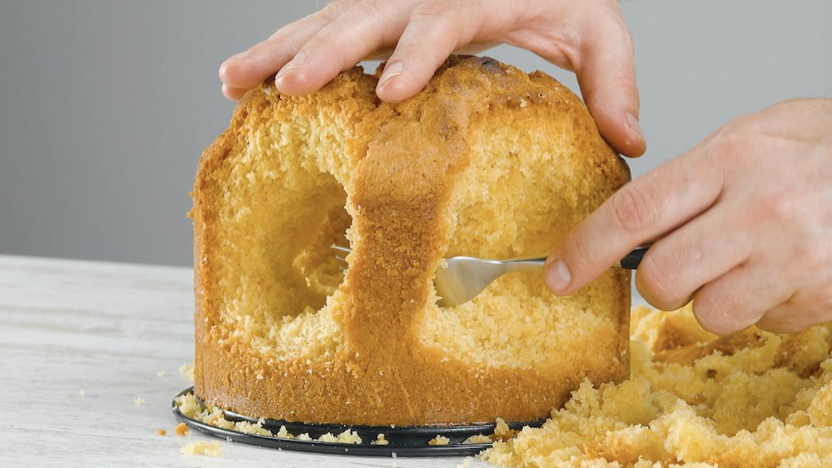 Torta scavata