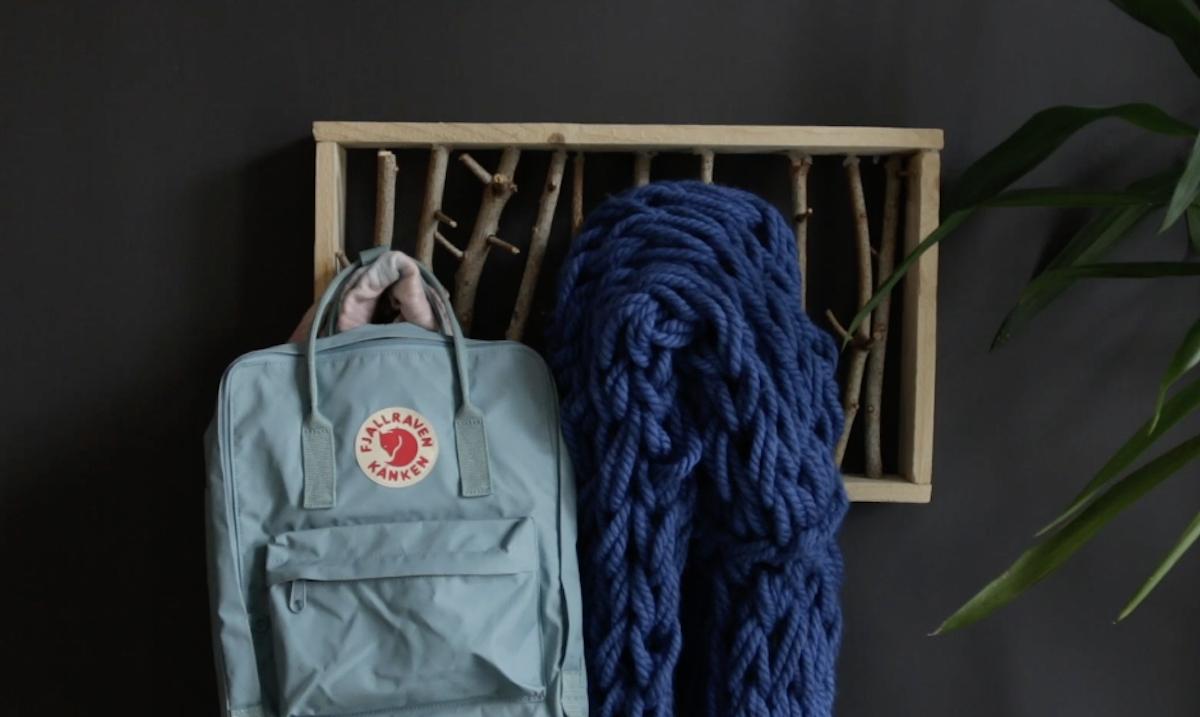 2 idee creative con legno e lana