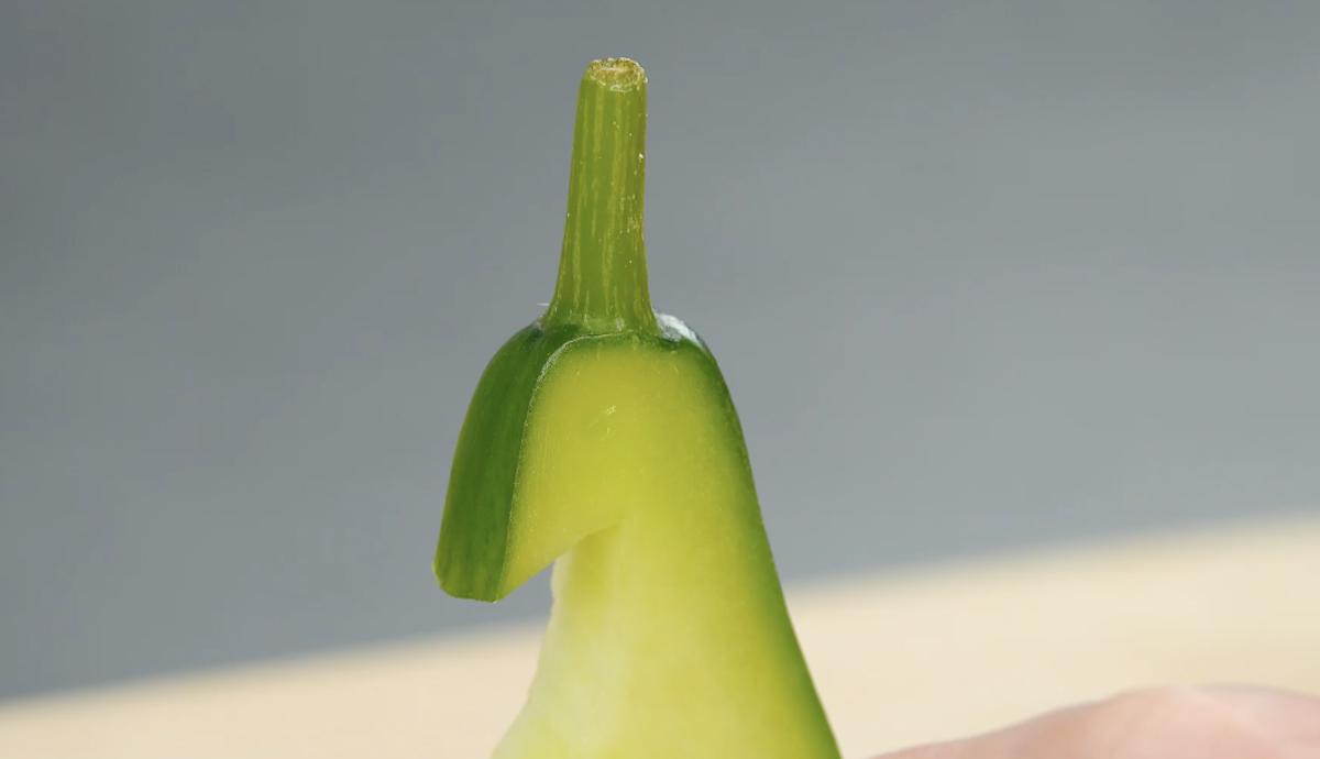 Intaglio cetriolo