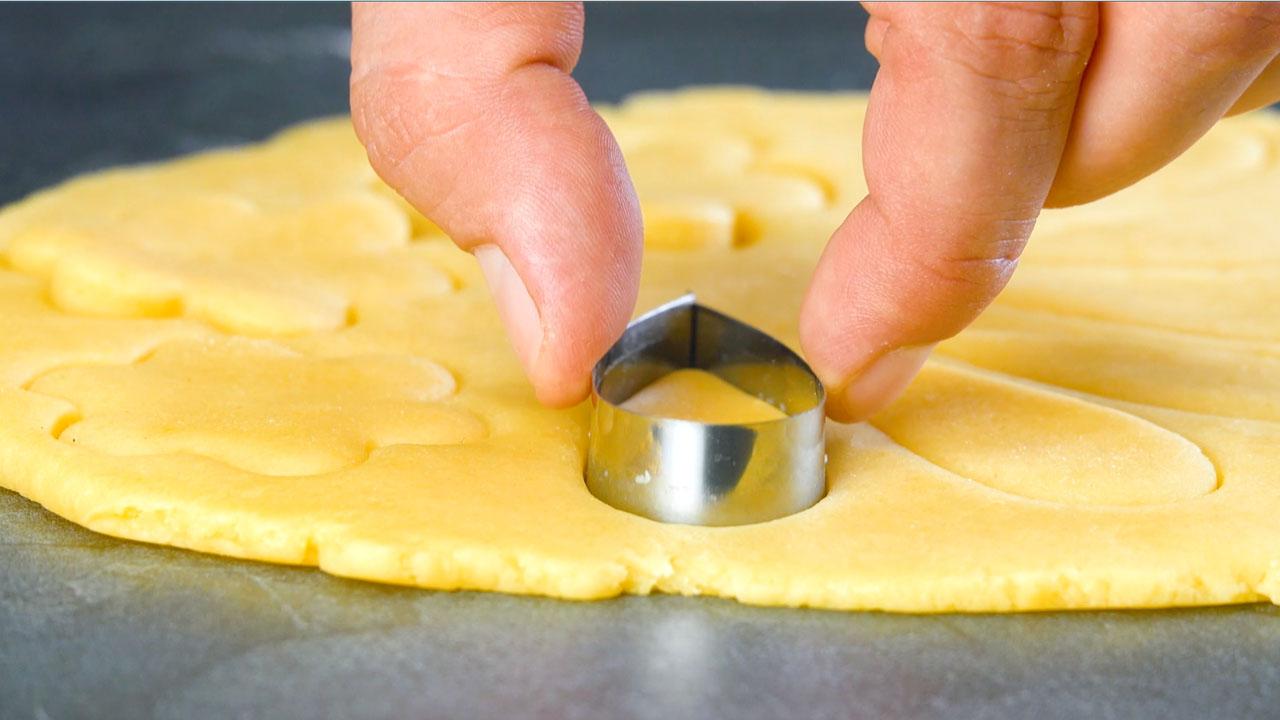 Stampino sulla pasta sfoglia
