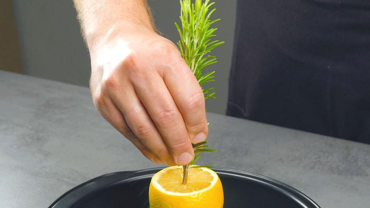 Rosmarino nel limone