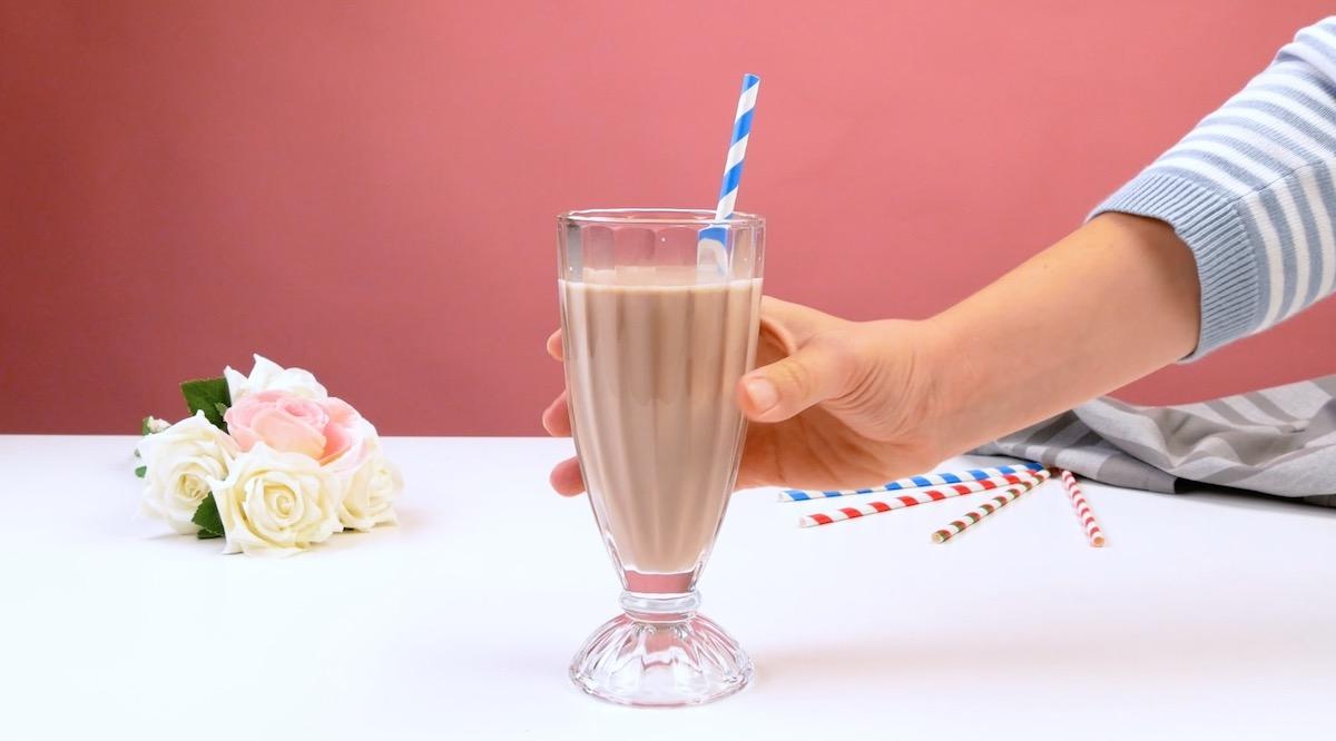 Latte alla nutella