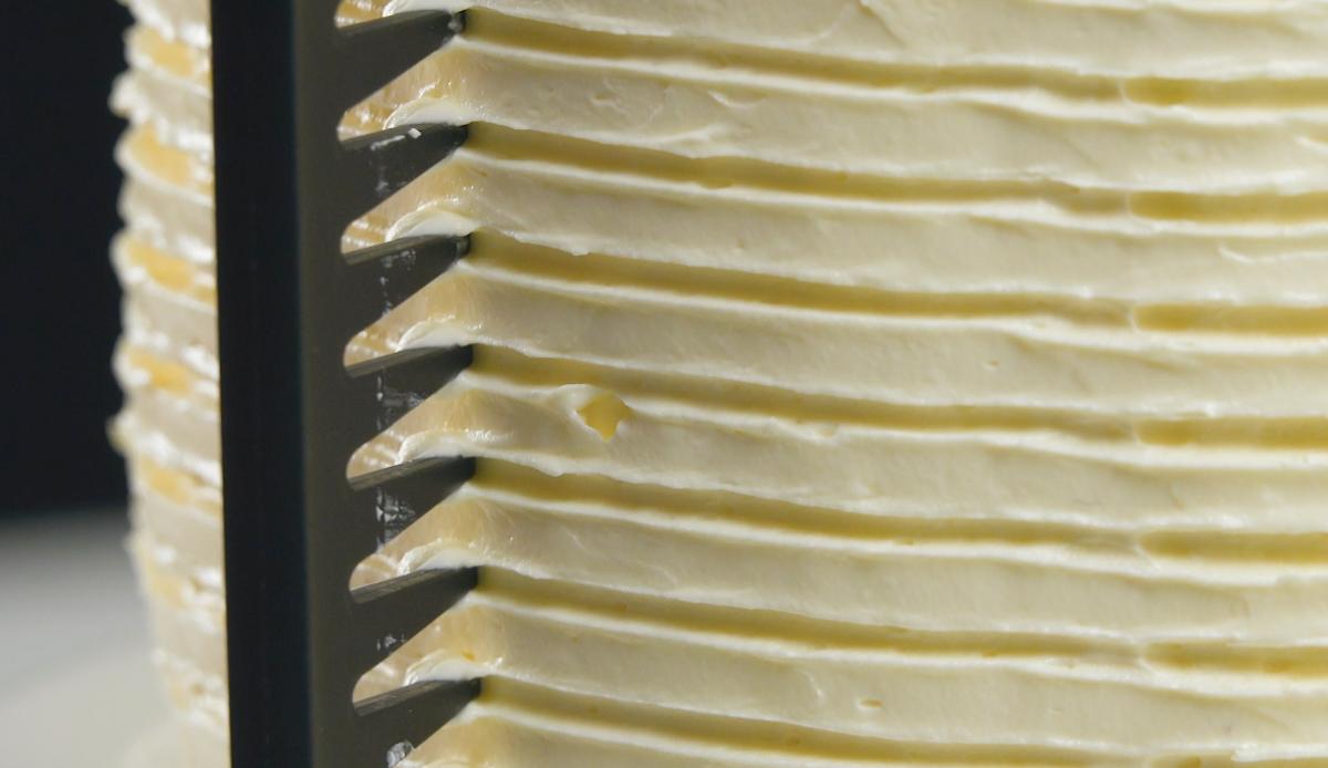Pettine nella crema al burro