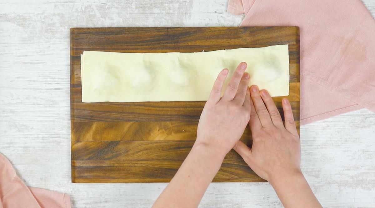 Pasta sfoglia ripiena