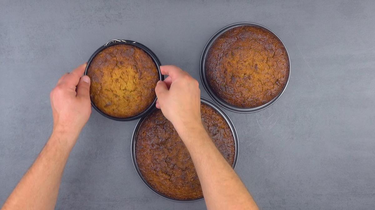 Torte di carote e zenzero