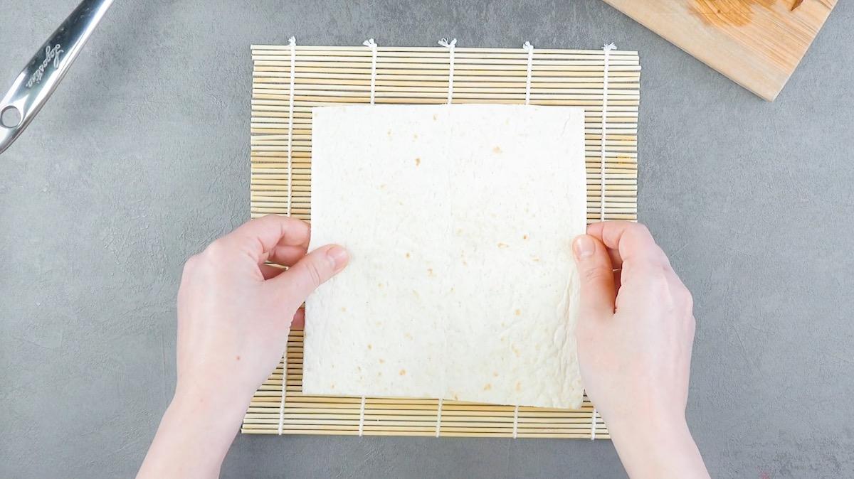 Tortilla quadrata