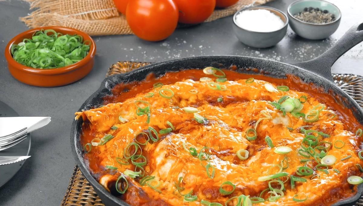 Deliziosa ricetta enchiladas tex mex