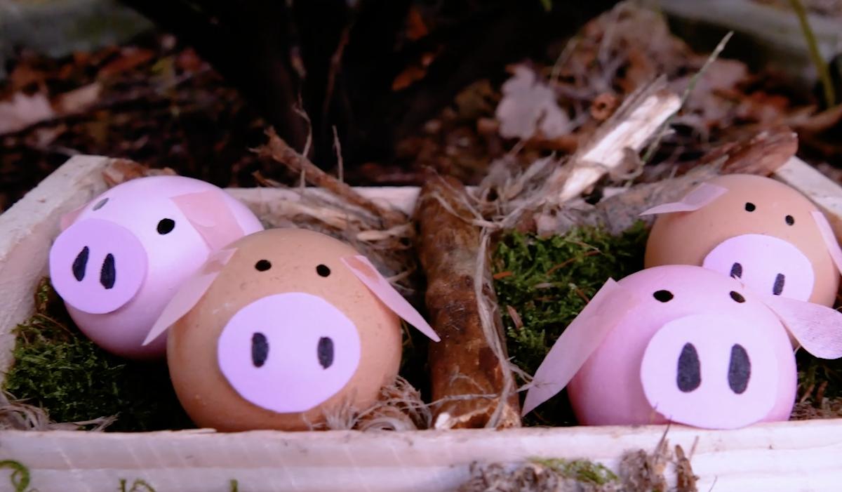 idee creative per decorare le uova di Pasqua
