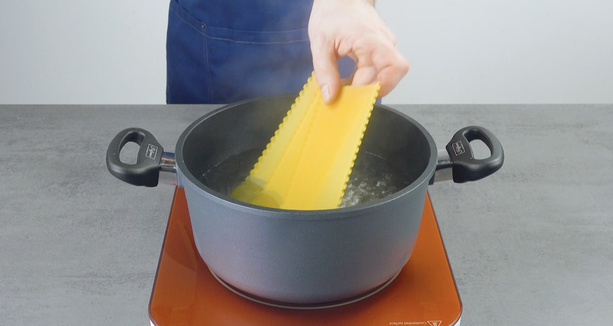 Sfoglia riccia per lasagne