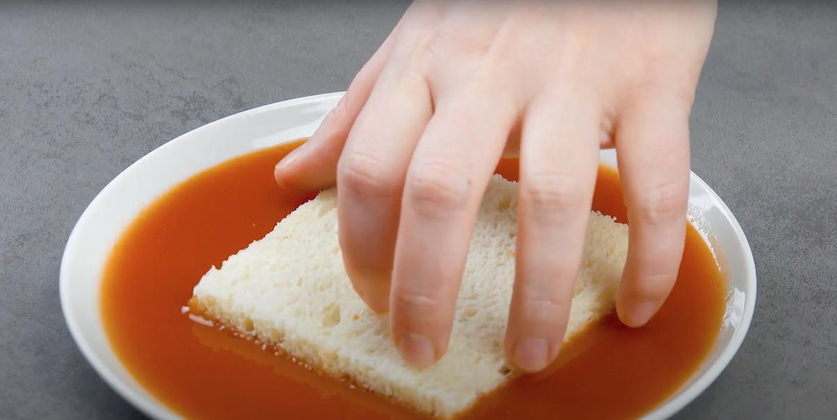 Pancarrè nella salsa piccante